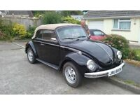 VW beetle Karman 1974 convertable