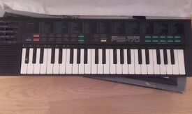 Yamaha electronic keyboard PSS 170, Brand new still in foam wrapper and in box. £35.00. Ono.