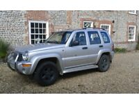 Jeep Cherokee Limited V6 Auto, factory tow bar, recent full service, MOT until March 2019