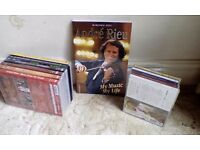 Andre Rieu cds and dvds and book