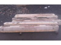 6 6 foot concrete gate posts for sale