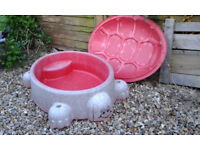 Sandpit/water tray in Turtle shape- free to collector