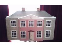 Full doll house furnlture and house