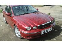 2003 Jaguar X Type 2.0 V6 SE 4dr Auto 2.1 red CGG LHJ BREAKING FOR SPARES