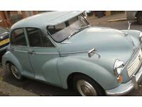 Morris minor 1962 4 door reduced to £1695 for quick sale