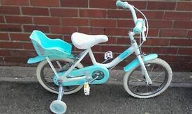 Tatty Teddy little girl's bike