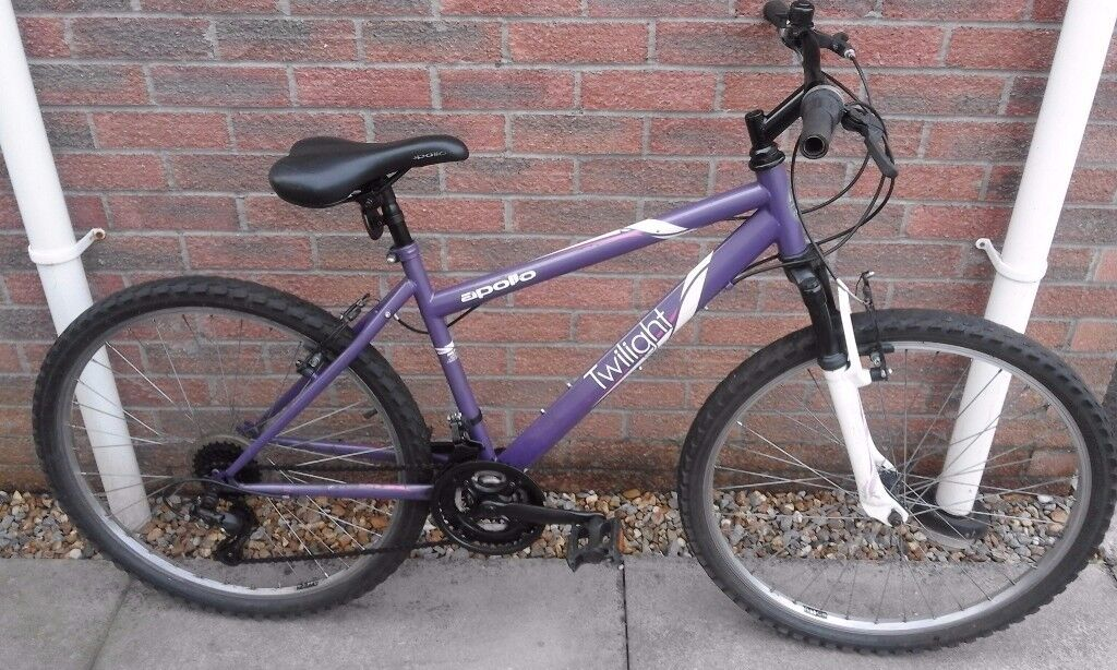 Ladies Apollo Twilight All Terrain Mountain Bike Bicycle