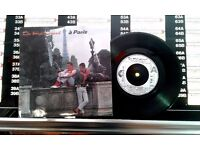 The Style Council ‎– À Paris, G, 7 inch single, released on Polydor ‎in 1983, Cat No TSC 3.
