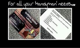 FOR ALL YOUR HANDYMAN NEEDS