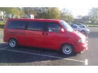 Vw Transporter T4 geniune banded steel wheels, 5x112, extra xl, staggered