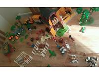 playmobil Farm Set