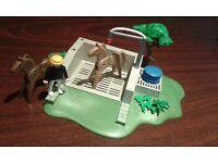 Playmobil horse wash station