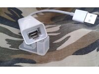 Thunderbolt Adapter (ideal especially for MacBook Air )