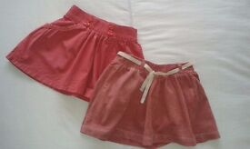 skirts and dress (sizes 2 and 3)