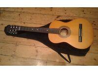 3/4 size guitar 92cm second hand