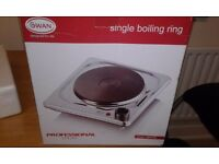Single boiling ring hob 1500W free standing