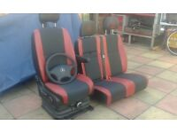 vw crafter driver seats and passanger
