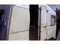 Sprite Alpine Caravan! 2 Berth. Needs work.