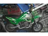 50cc midi moto needs pulls start