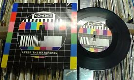 Carter The Unstoppable Sex Machine – After The Watershed, VG, 7 inch single.