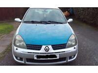 Renault Clio campus 1.5 DCI 06 plate