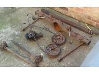 Starlet RWD axle spares or repair
