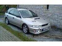 Subaru Impreza turbo wagon, fsh, low mileage, genuine rare uk car