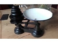 vintage kitchen scales very heavy
