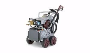 Industrial Electric Pressure Washer - Hot Water Diesel Burner. Italy