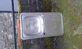 Stainless steel sink, free for collection
