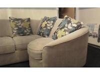 Sekonda dfs right side corner sofa