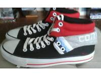 Converse boots.
