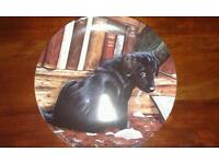 """Danbury Mint Wedgewood 'playful puppies"""" collection plate"""
