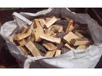 ton bag of logs for sale £55 free local delivery