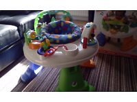 Fisher Price twirlin whirlin entertainment activity centre