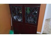 Mahogany small cabinet in very good condition