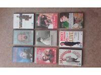 Selection of nine ( 9 ) Dvd's