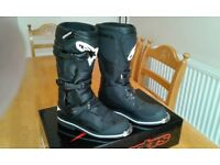Brand new alpinestar enduro / motocross boots