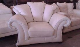 New graded White VIOLINO Armchair sofa settee