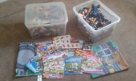 Large 16kg selection of miscellaneous lego and instructions