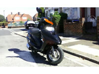 Baotian BT 125 T-9, 2009, good condition, £550.