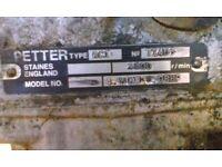 Petter generator