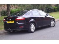 FORD MONDEO ZETEC 1,8 TDCI BLACK 2007 REG FULL SERVICE HISTORY CAMBELT CHANGED LADY OWNED PX WELCOME