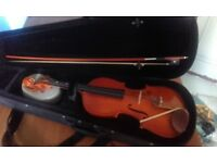 3/4 size violin with case