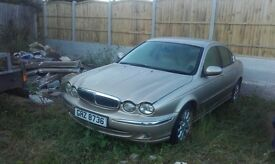 breaking jaguar x type v6 se 2001