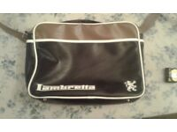 Lambretta shoulder/satchel style zip up bag.