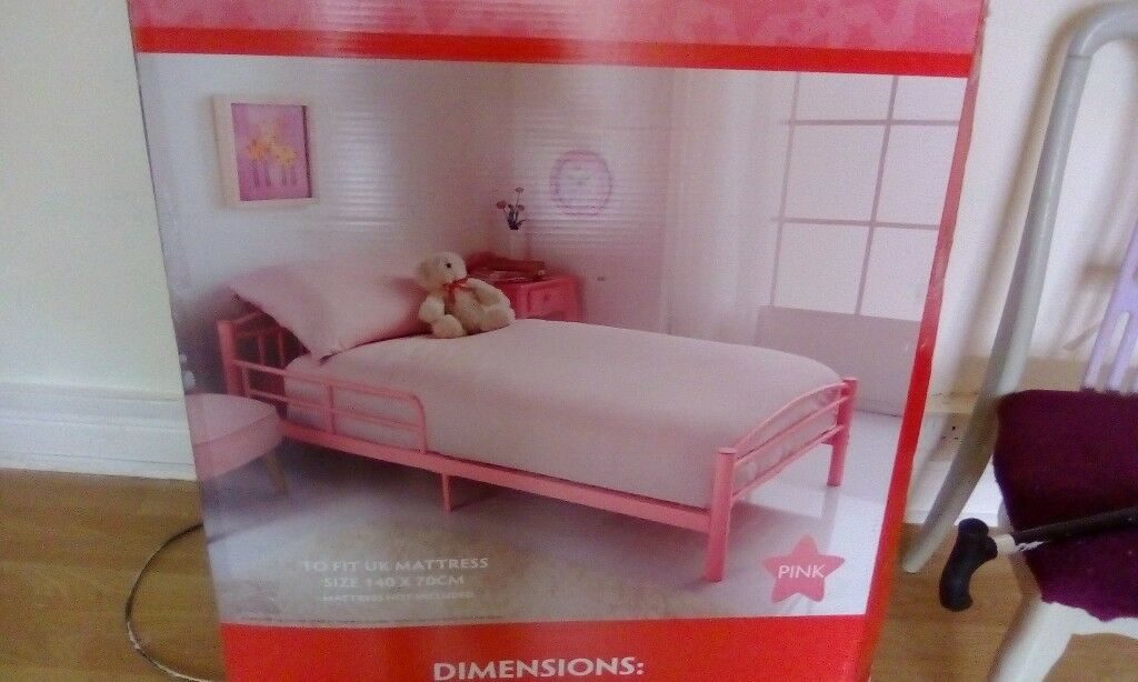 Pink Child S Bed