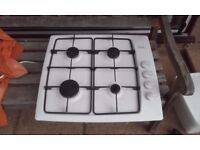 4 Burner Gas Hob, with Electric Ignition.