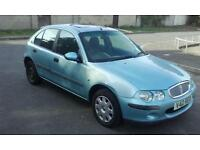 Rover 25 drives well with mot