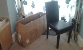 New pair of dining chairs (still boxed)
